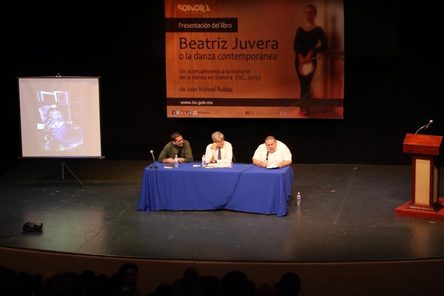 Presentación del libro Beatriz Juvera o la danza contemporánea (5)